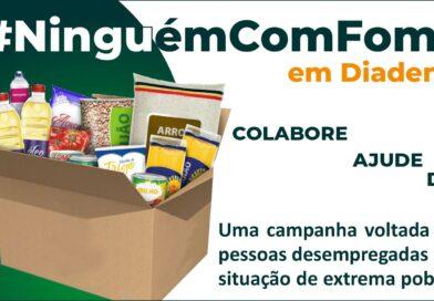 ACE Diadema reforça a campanha Sua Fome me Incomoda